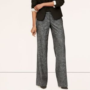 Ann Taylor | Margo Tweed High Rise Trouser Pants
